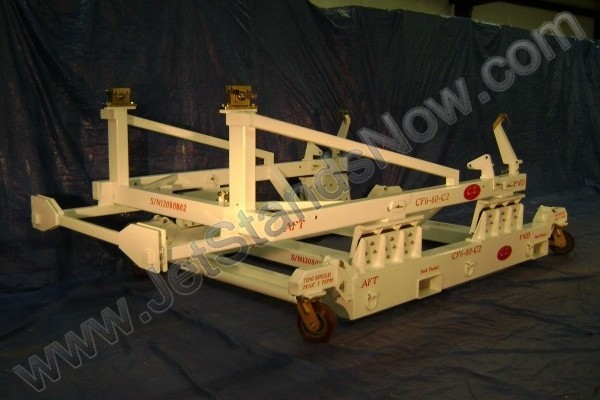 General Electric GE CF6-80-C2 Commercial Jet Engine Shipping Stand